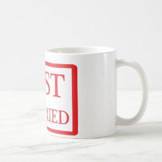 just married icon basic white mug