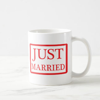 just married icon mug