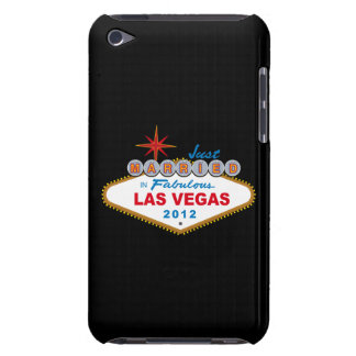 Just Married In Fabulous Las Vegas 2012 Vegas Sign Case-Mate iPod Touch Case