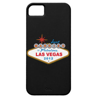 Just Married In Fabulous Las Vegas 2012 Vegas Sign iPhone 5 Covers