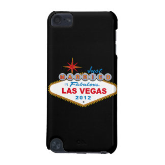 Just Married In Fabulous Las Vegas 2012 Vegas Sign iPod Touch (5th Generation) Cases