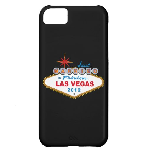 Just Married In Fabulous Las Vegas 2012 Vegas Sign iPhone 5C Covers