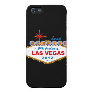 Just Married In Fabulous Las Vegas 2012 Vegas Sign Covers For iPhone 5