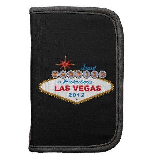 Just Married In Fabulous Las Vegas 2012 Vegas Sign Folio Planners