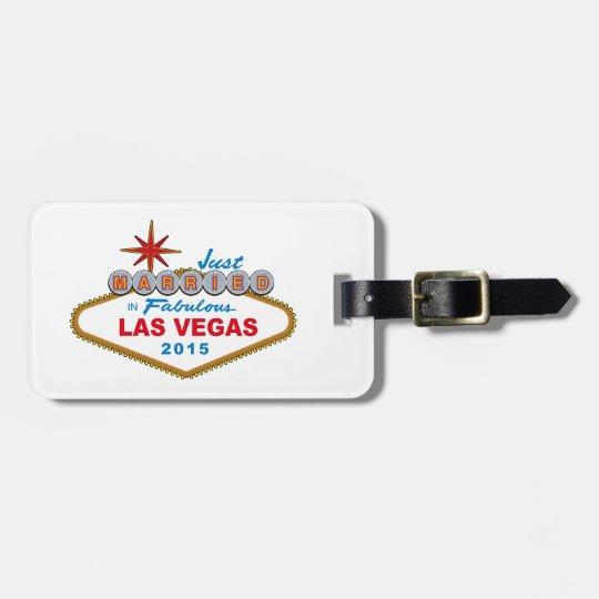 Just Married In Fabulous Las Vegas 2014 (Sign)