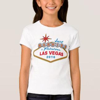 Just Married In Fabulous Las Vegas 2016 (Sign) Tees