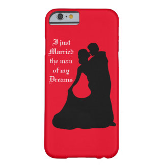 Just married iPhone 6/6s barely there case Barely There iPhone 6 Case