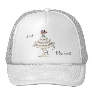 Just Married! Las Vegas Bride & Groom Cake Hat