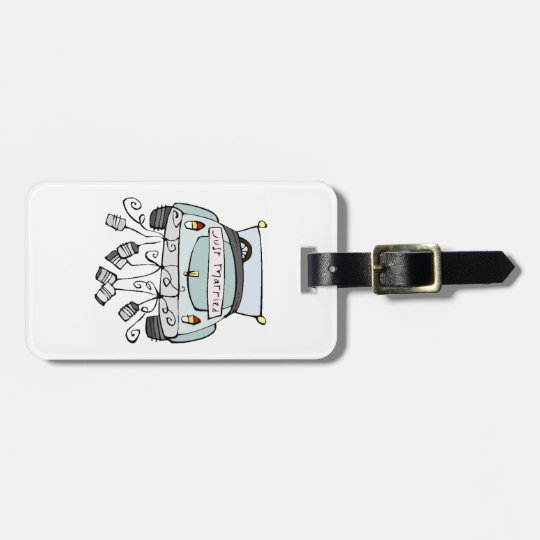 Just Married Luggage Tag - Customise it!