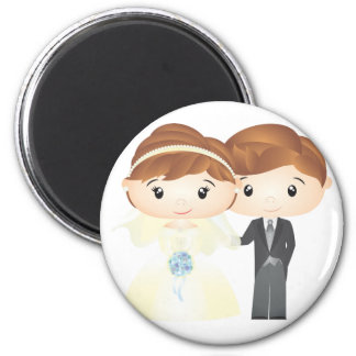 Just Married - Magnet