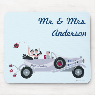 Just Married Mouse Mat