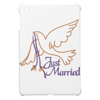 Just Married Rings Case For The iPad Mini