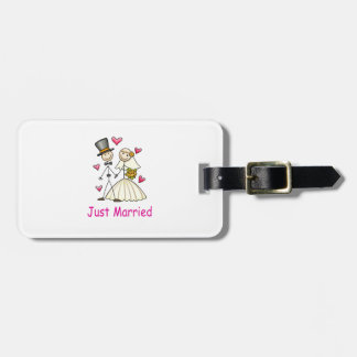Just Married Tag For Luggage