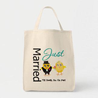 Just Married 'Til Death Do Us Part Bags