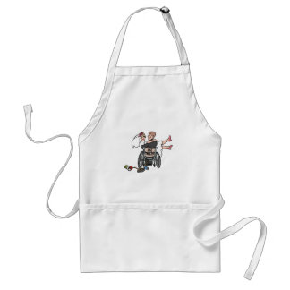 Just Married Wheelchair Standard Apron
