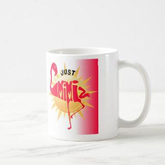 Just mimi basic white mug