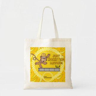 Just Monkey Around Nursery Theme Bags