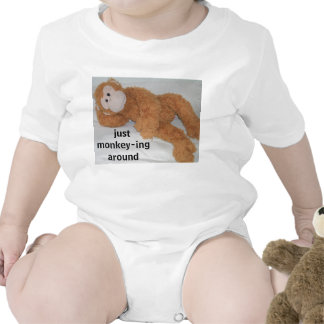 """just monkey-ing around"" tee shirt"