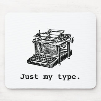 Just my type, Typewriter Mouse Pad
