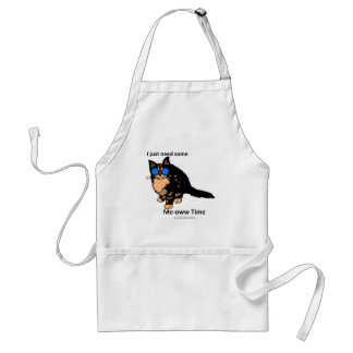 Just Need Meow Time Standard Apron