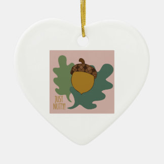 Just Nutty Ceramic Heart Decoration