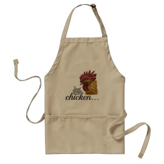 Just one more chicken  - apron