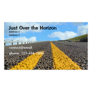 Just Over the Horizon Business Card Templates