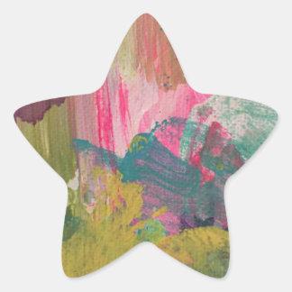 Just Paint Star Sticker