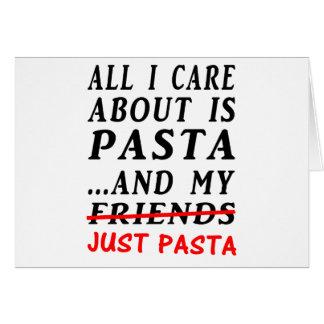 Just-Pasta Card