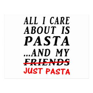 Just-Pasta Postcard