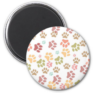 Just paws products 6 cm round magnet