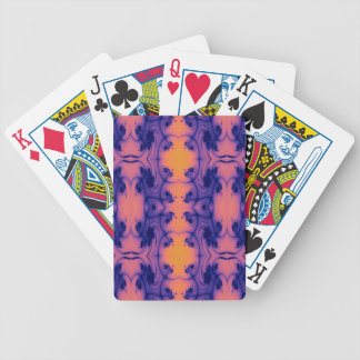 Just peachy fractal bicycle playing cards