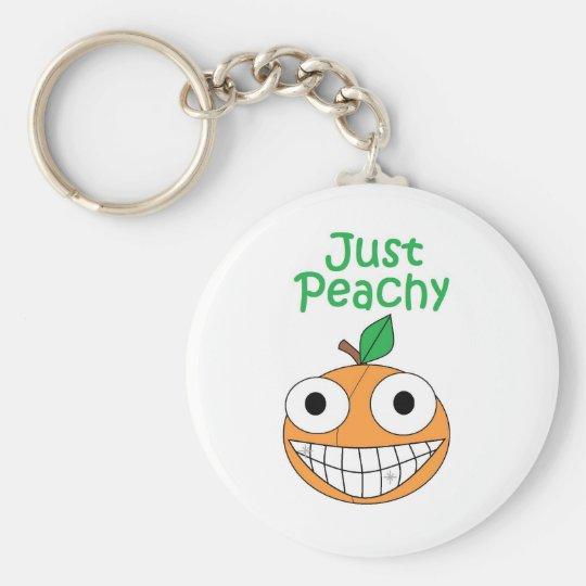 Just Peachy Keychain