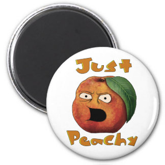 Just Peachy Magnet