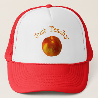 Just Peachy Trucker Hat