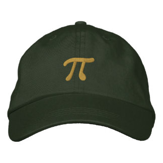 Just Pi Embroidered Baseball Caps