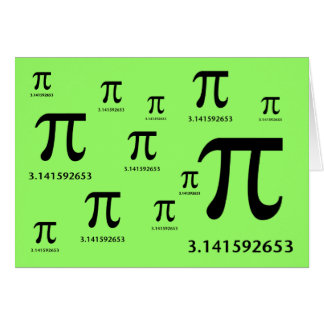 Just Pi, Nothing More Greeting Card