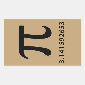 Just Pi, Nothing More Rectangular Sticker