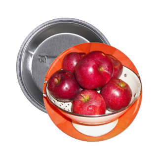 Just Picked Apples 6 Cm Round Badge