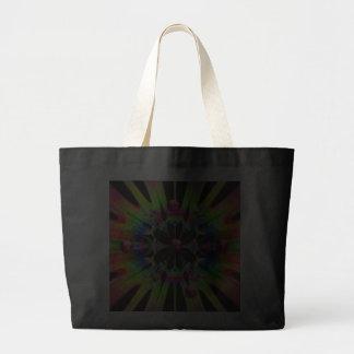 just plain funky jumbo tote bag