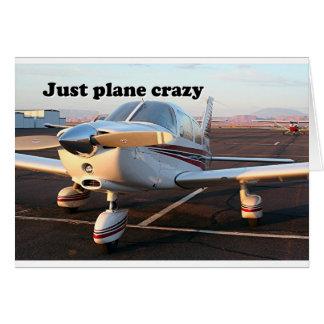 Just plane crazy aircraft Page Arizona USA 13 Greeting Card