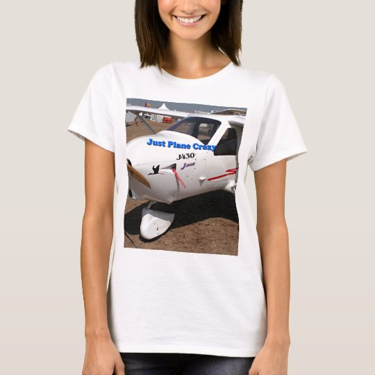 Just plane crazy: Jabiru ultralight T-Shirt