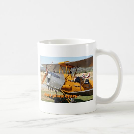 Just plane crazy: Tiger Moth biplane aircraft Coffee