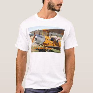 Just plane crazy: Tiger Moth biplane aircraft T-Shirt