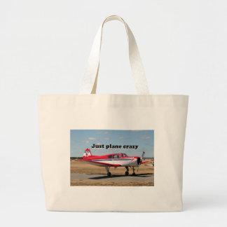 Just plane crazy: Yak aircraft Large Tote Bag