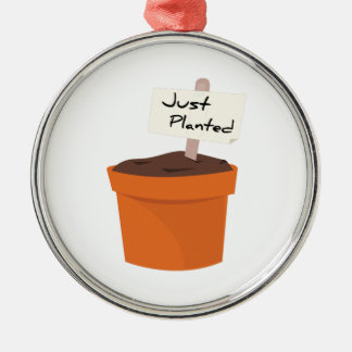 Just Planted Ornament