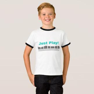 Just Play Piano t-shirt