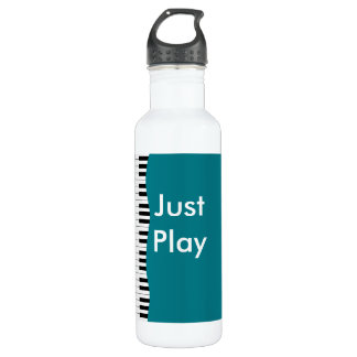 Just Play Piano Water Bottle 710 Ml Water Bottle