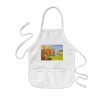 Just relax kids apron