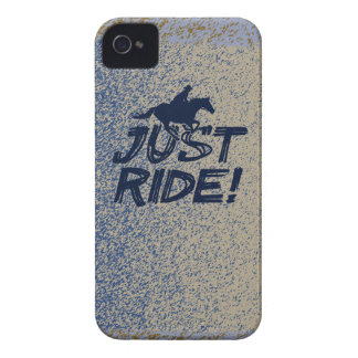 Just Ride!  BlackBerry Bold Case-Mate Barely There iPhone 4 Case-Mate Case